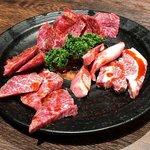 神戸牛・個室焼肉 大長今 - 上ロース、上カルビ、上赤身肉
