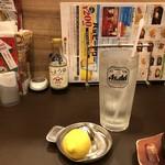 ガスト - 生レモンサワー