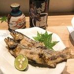 喜助 - 鮎の塩焼き