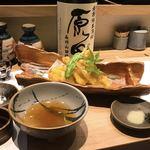 喜助 - キスの天ぷら