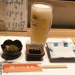 喜助 - キンキンに冷えた生ビール