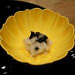 銀座つる - 白ズイキの海苔山葵和え