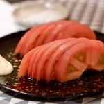 うなぎ海鮮料理 六なぎ - トマトスライス