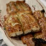 うなぎ海鮮料理 六なぎ - うなぎ白焼き