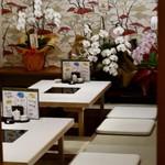 うなぎ海鮮料理 六なぎ - 座敷