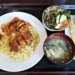 喫茶・ゆり - 料理写真:トルコライス@900