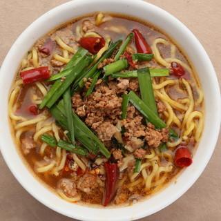素材命!手作り【台湾メン】の旨さと刺激的な辛さが食欲を満たす