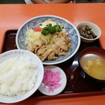 89793754 - 生姜焼き定食