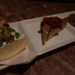 個室イタリアン LaVitaRosa  - 3種の前菜盛り合わせ980円