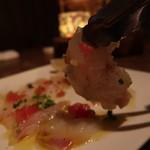 個室イタリアン LaVitaRosa  - 鮮魚のカルパッチョ1000円