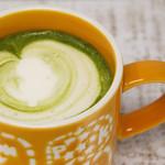 グリーン リーフ - ドリンク写真:プレミアム抹茶ソイラテ
