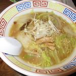 89794770 - 辛口白菜ラーメン 730円(税込)スープが少ない【2018年7月】