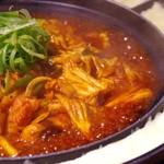 チーズタッカルビ鍋