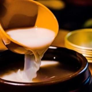マッコリや韓国焼酎など韓国のお酒を豊富にご用意しております!