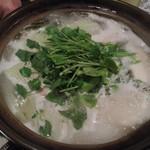 ちゃぶ屋かりゆし - タラ鍋