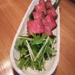 和ビストロ 菜 - ローストビーフ 1、500円