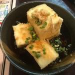 炎天下 - 揚げ出し豆腐 (250円)