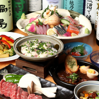 腕利きの職人がきっちり旬を活かす!新潟の味と当店自慢の味。