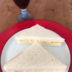 サンドイッチ オリオン - いただきます✨