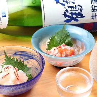 スタンダード・旬の新潟地酒に県外地酒◆八海山生ビールをご用意