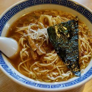 中華そば おかめ - 料理写真:中華そば(魚介系) 650円