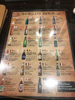 ハングリー ヘブン - ビールの種類も豊富です!