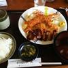 キャロット - 料理写真:日替りランチ エビフライ とメンチカツ ¥700