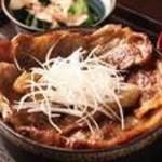 富士桜ポーク丼定食【お食事おすすめNo.2】