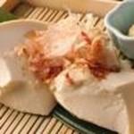 自家製おぼろ豆腐