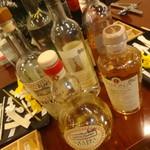 アンティコ ジェノベーゼ - グラッパなど食後酒もいろいろあります
