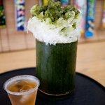 浜佐商店 - 料理写真:製茶問屋 浜佐商店 煎茶かき氷