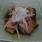 8980517 - ナスと鴨肉のくわ焼き