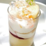 ラ・コート・ダジュール - 白桃のデセール
