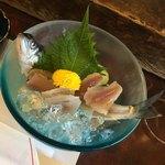 揖斐川丘苑 - 鮎のお刺身