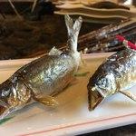 揖斐川丘苑 - 鮎の塩焼き 2本