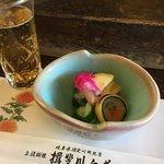 揖斐川丘苑 - 鮎酢の物