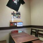 蕎麦樹 - 店舗内観(2階)