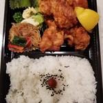 弁当 野の花 - 料理写真:唐揚げ弁当 480円