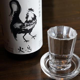 新澤醸造店と作り上げた、『火鳥』限定の日本酒をご堪能あれ…。