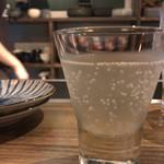 居酒屋 山角 - 日本酒グラス