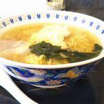 なみえ肉食堂 - 料理写真:ラーメン 600円