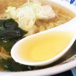 なみえ肉食堂 - スープ