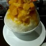 サンマルクカフェ - マンゴーかき氷