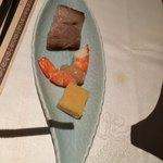 シルクロードガーデン - キッズメニューの前菜三種盛り
