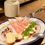 ekao - 前菜の盛り合わせ