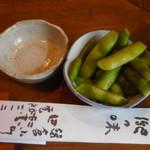 田楽 - お通し 茶豆