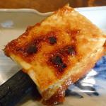 田楽 - 豆腐田楽(山椒、柚子味噌)