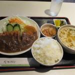 喫茶パール - チキンカツ定食(╹◡╹)♡