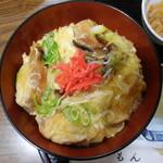 味処もん - 油麩丼(とよまセット)