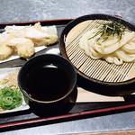 手打ちうどん 讃岐つけ麺 - 料理写真:鶏ささみ天ざるつけ麺
